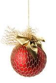 Christmas ball isolated — Stock Photo