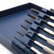 Set of precision screwdrivers — Stock Photo