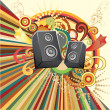 Royalty-Free Stock Imagem Vetorial: Music Design