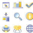 Icon Set — Vettoriale Stock #1979639