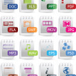File Icon Set — Stock Vector #1979878
