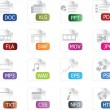 File Icon Set - Stockvectorbeeld