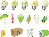 Icono de reciclaje — Vector de stock
