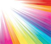 Fondo del arco iris — Vector de stock