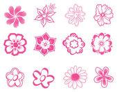 Flores — Vector de stock
