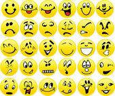 Emoticonos — Vector de stock
