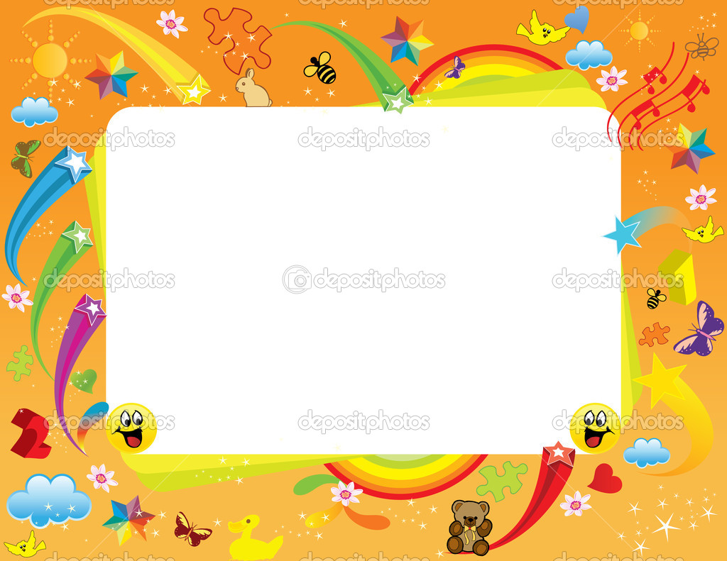 Kids Frame — Stock Vector #1979649