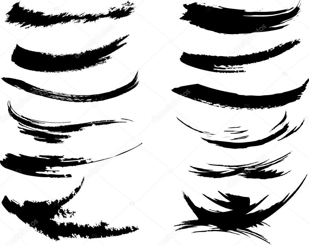 Pin Paint Brush Stroke Font on Pinterest