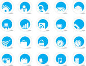 Configurar icono — Vector de stock