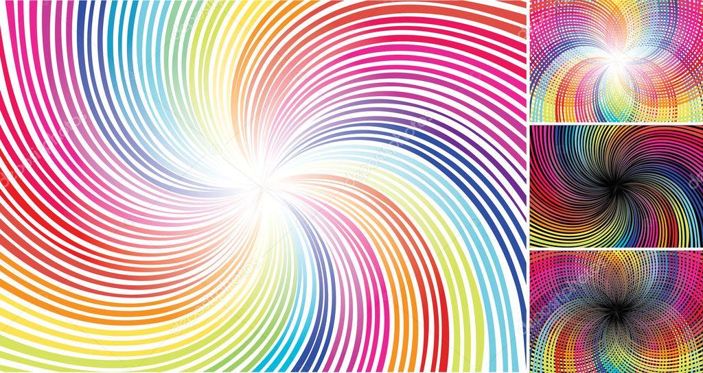 Spectrum Background Spectrum Background — Vector