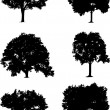 Tree set — Vector de stock #2244049
