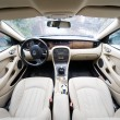 Interior of exclusive car — Foto de Stock