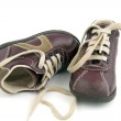 Pair of kid's shoes — Stock Photo