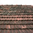 Stock Photo: Old roof coated by rooftiles