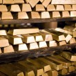 Golden bars — Stock Photo #2006074