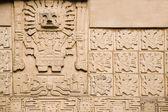 Aztec background — Stock Photo