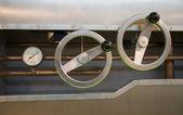 En kontroll meter med mätare — Stockfoto