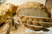 Two kind of bread — Stock Photo