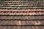 Roof coated by rooftiles — Stock Photo