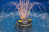 Modern fountain — Stock Photo