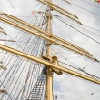 Rigging of big sailing ship — Stock Photo #2016169