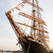 The biggest sailing ship in the world - Stock Photo