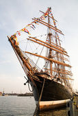 The biggest sailing ship in the world — Stock Photo