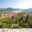 View from Stone fortress on the city — Stock Photo