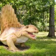 Stock Photo: Dimetrodon grandis