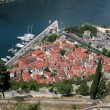 View on Kotor old city — Stockfoto