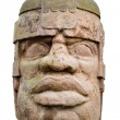 Ancient olmec head — Stock Photo #2024808