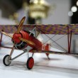Stock Photo: Model of WW1 plane