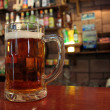 Mug of beer — Stockfoto