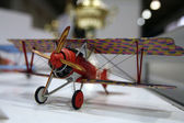 Model of WW1 plane — Stock Photo