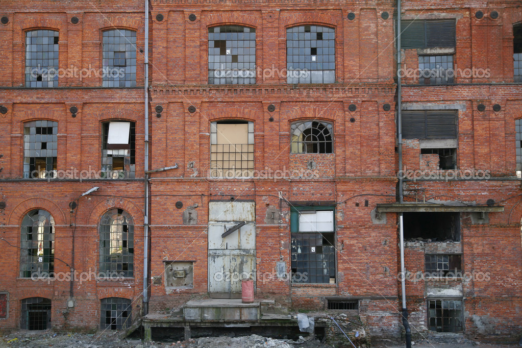 An old manufacture in Lodz - Poland — Stock Photo #2024631