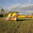 Stock Photo: Rescue helicopter