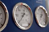 Three controll metres — Stock Photo