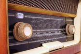 Old antique radio — Stock Photo