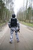 спецназ солдат — Стоковое фото