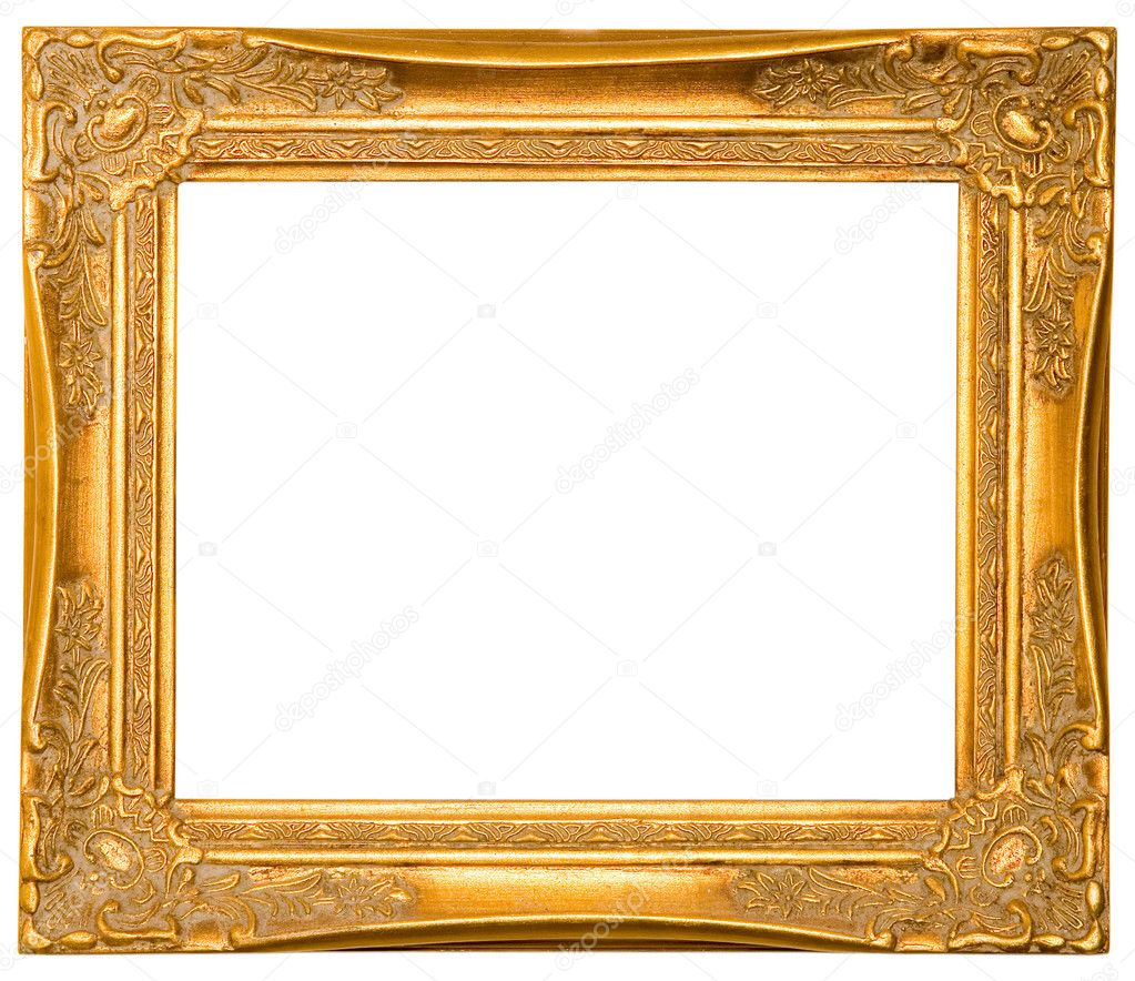 Old Wooden Picture Frames Old Wooden Frame Isolated on