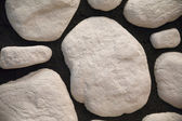 Fragment of wall made of stones — Stock Photo