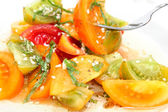 Heirloom Tomato Salad — Stock Photo