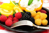 Low Calorie Berry Salad — Stock Photo