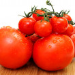 Large And Small Tomato — Stock Photo