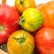 Colorful Heirloom Tomatoes - Stock Photo