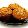 Banana Muffin — Stock Photo