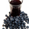 Blueberry Juice - Stock Photo
