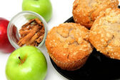 Apple muffins — Stockfoto