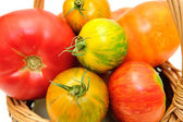 Colorful Heirloom Tomatoes — Stock Photo