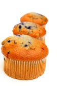 Three Muffins — Foto de Stock